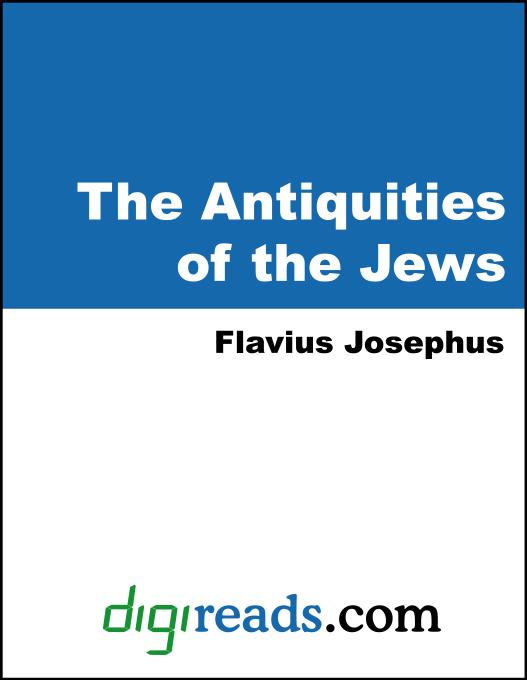 The Antiquities of the Jews als eBook von Flavius Josephus - Neeland Media