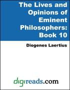 Laertius, Diogenes: The Lives and Opinions of Eminent Philosophers