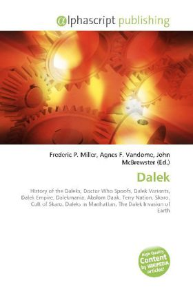 Dalek - Miller, Frederic P. (Hrsg.) / Vandome, Agnes F. (Hrsg.) / McBrewster, John (Hrsg.)