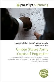 United States Army Corps Of Engineers - Frederic P. Miller