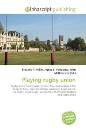 Playing rugby union