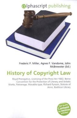 History of Copyright Law