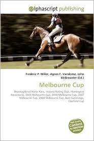 Melbourne Cup - Frederic P. Miller