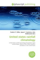 United states rainfall climatology - Frederic P. Miller