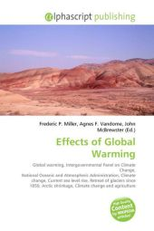 Effects of Global Warming - Frederic P. Miller