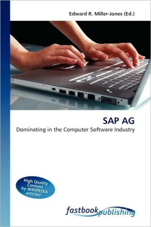 SAP AG - Edward R. Miller-Jones