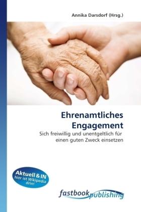 Ehrenamtliches Engagement - Sich freiwillig und unentgeltlich für einen guten Zweck einsetzen - Darsdorf, Annika
