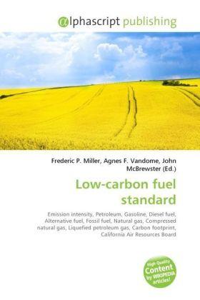 Low-carbon fuel standard