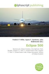 Eclipse 500 - Frederic P. Miller