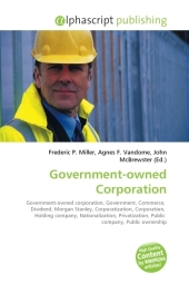 Government-owned Corporation - Frederic P. Miller