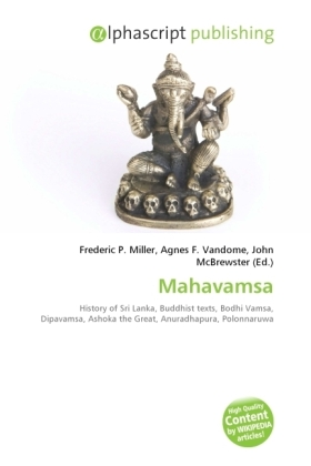 Mahavamsa - Miller, Frederic P. (Hrsg.) / Vandome, Agnes F. (Hrsg.) / McBrewster, John (Hrsg.)