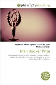 Man Booker Prize - Frederic P. Miller