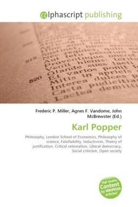 Karl Popper - Miller, Frederic P. (Hrsg.) / Vandome, Agnes F. (Hrsg.) / McBrewster, John (Hrsg.)