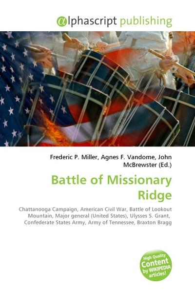 Battle of Missionary Ridge - Frederic P. Miller