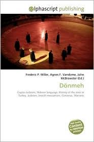 Donmeh - Frederic P. Miller, Agnes F. Vandome, John McBrewster