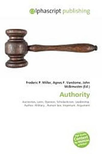 Authority - Frederic P. Miller
