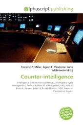 Counter-intelligence - Frederic P. Miller