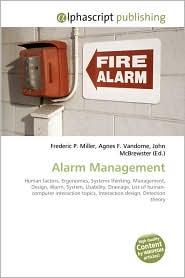 Alarm Management - Frederic P. Miller, Agnes F. Vandome, John McBrewster