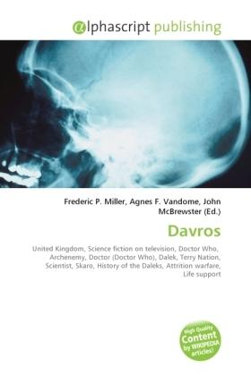 Davros - Miller, Frederic P. (Hrsg.) / Vandome, Agnes F. (Hrsg.) / McBrewster, John (Hrsg.)