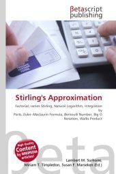 Stirling's Approximation - Lambert M. Surhone