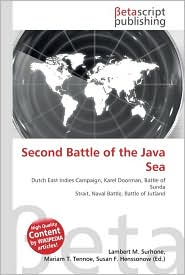 Second Battle of the Java Sea - Lambert M. Surhone, Miriam T. Timpledon, Susan F. Marseken