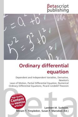 Ordinary differential equation