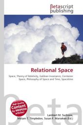 Relational Space - Lambert M. Surhone
