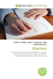 Bijection - Frederic P. Miller