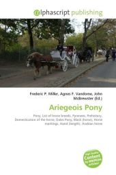 Ariegeois Pony - Frederic P. Miller
