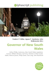 Governor of New South Wales - Frederic P. Miller