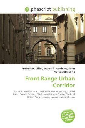 Front Range Urban Corridor