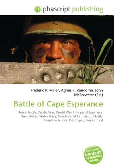 Battle of Cape Esperance - Frederic P. Miller