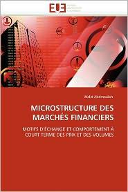 Microstructure Des March S Financiers