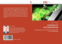 SYNTHESE ET POLYMERISATION - JEANMAIRE, thomas