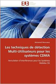 Les Techniques De D Tection Multi-Utilisateurs Pour Les Syst Mes Cdma
