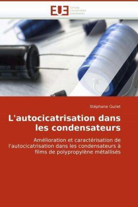 L'autocicatrisation dans les condensateurs - Amélioration et caractérisation de l'autocicatrisation dans les condensateurs à films de polypropylène métallisés - Guilet, Stéphane
