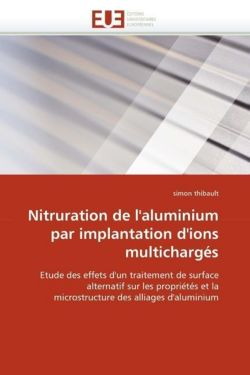 Nitruration de l'aluminium par implantation d'ions multichargés