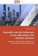 ZALOUK, SOFIANE: Nouvelle voie de traitement et de valorisation des déchets animaux
