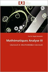 Mathematiques Analyse III