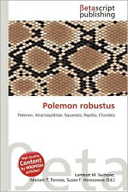 Polemon Robustus - Lambert M. Surhone (Editor), Mariam T. Tennoe (Editor), Susan F. Henssonow (Editor)