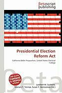 Presidential Election Reform ACT