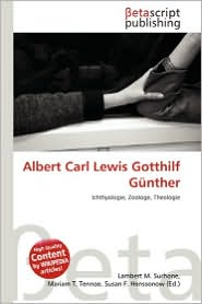 Albert Carl Lewis Gotthilf Gunther