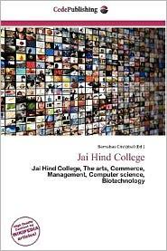 Jai Hind College - Barnabas Crist Bal (Editor)