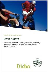 Dave Costa - Delmar Thomas C. Stawart (Editor)