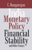 India: Monetary Policy, Financial Stability and Other Essays - C. Rangarajan
