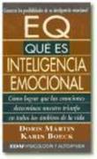 Boeck, Karin;Martín, Doris: E.Q. qué es inteligencia emocional?