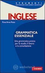 Grammatica inglese - Rizzo Rosa A.