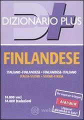 Dizionario finlandese. Italiano-finlandese, finlandese-italiano - Boella Ernesto