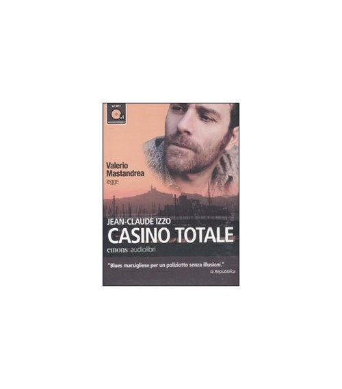 Casino totale letto da Valerio Mastandrea. Audiolibro. CD Audio formato MP3 - Izzo Jean-Claude
