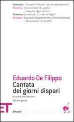 Cantata dei giorni dispari - De Filippo Eduardo